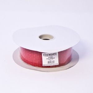 JUTE RIBBON  RED  63200